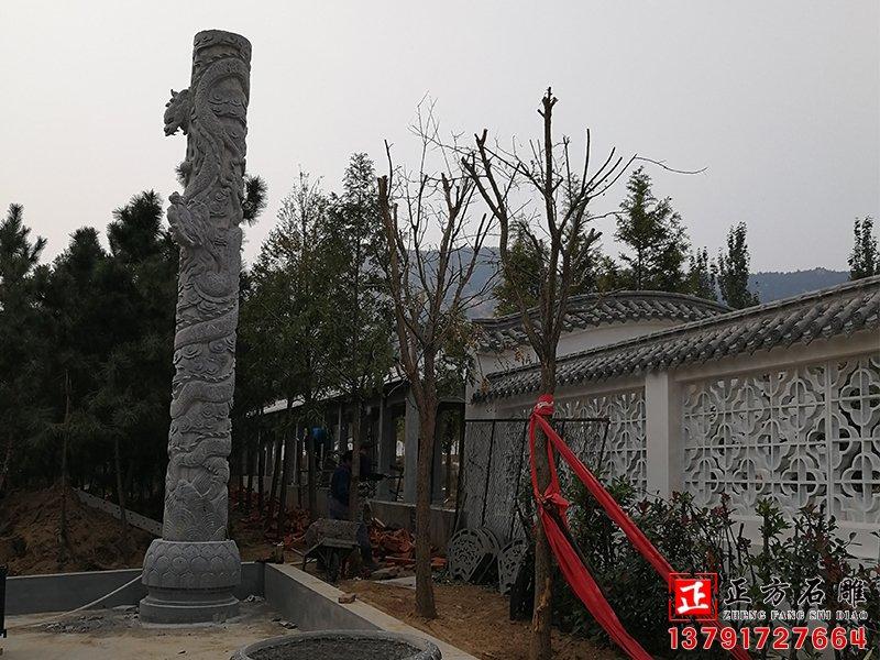 石雕龙柱雕刻工艺水平应该如何对比